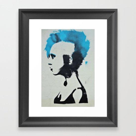 you were punked Framed Art Print