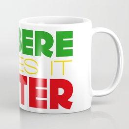 Berbere Makes It Better, in Ethiopian colors Coffee Mug