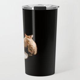 Sulky Cat Travel Mug