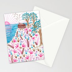 Cliff Top Cabin Stationery Cards