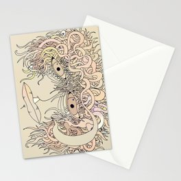 Way so sad... Stationery Cards