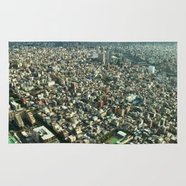 View of Tokyo from Skytree Rug