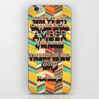 vonnegut iPhone & iPod Skins featuring Vonnegut by nicole martinez