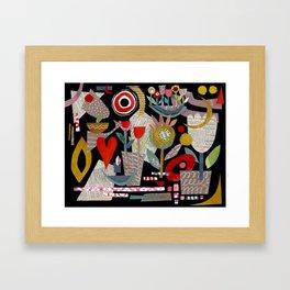'night garden ...' Framed Art Print