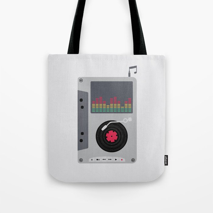 Music Mix Tote Bag