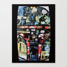 Boba Fett Collage Canvas Print