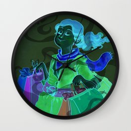 Power of the Nose Wall Clock