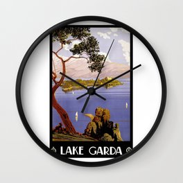 Lake Garda Wall Clock