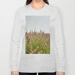 Fields of Lavender South of France Long Sleeve T-shirt