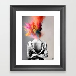 a certain kind of magic Framed Art Print