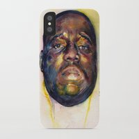 biggie iPhone & iPod Cases featuring Biggie  by Kyle Miller