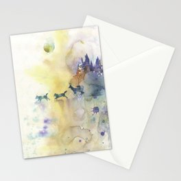 Moony, Wormtail, Paddfoot, and Prongs Stationery Cards