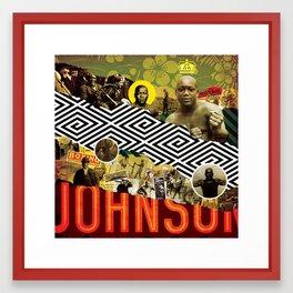 BRING THE PAIN: JACK JOHNSON Framed Art Print