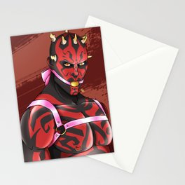 Darth Maul tied up Stationery Cards