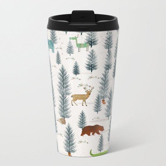 little nature Metal Travel Mug