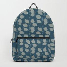 Heart Vines, dark blue   Backpack