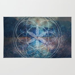 Sacred Geometry Universe X Rug