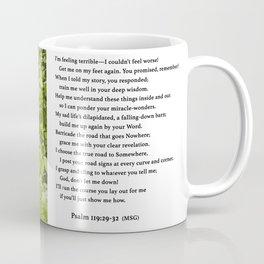 Psalm 119 Coffee Mug