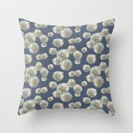 DANDELION BLUE WKS Throw Pillow