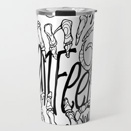 Chainsmokers+Roses Travel Mug
