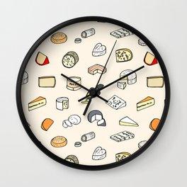 Cheese pattern Wall Clock