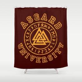Asgard University Shower Curtain