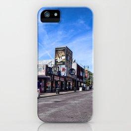Beale Street iPhone Case