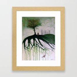 Remants Framed Art Print