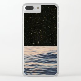 Empty Spaces Clear iPhone Case