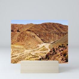 Tren a las nubes, Salta | Argentina Fine Art Travel Photography Mini Art Print