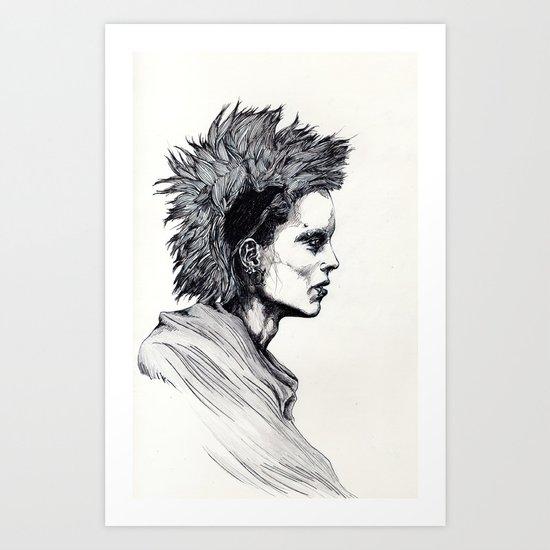 Salander III Art Print