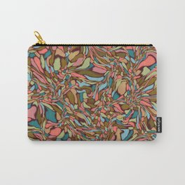 Terrazzo-Vintage colors Carry-All Pouch