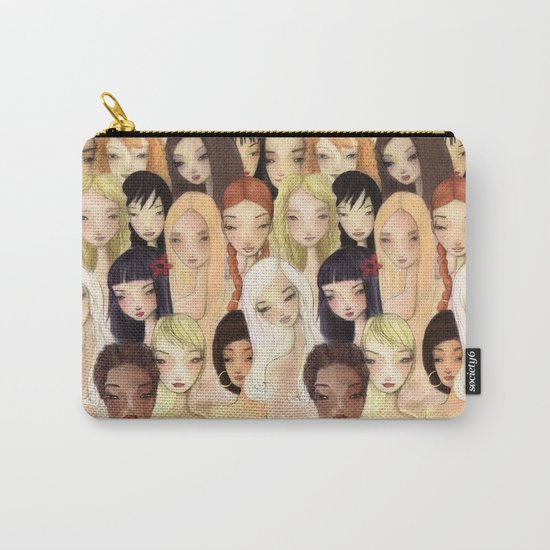 Girlie pattern Carry-All Pouch