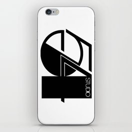 Studio 54 Art Print, Black White Poster, Art Prints, Fashion Print, Minimalist Print, Modern Art, Mi iPhone Skin