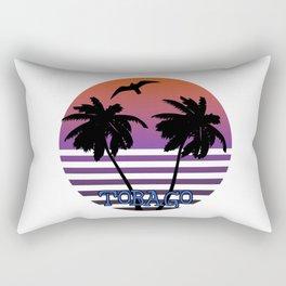 Tobago sunset Rectangular Pillow