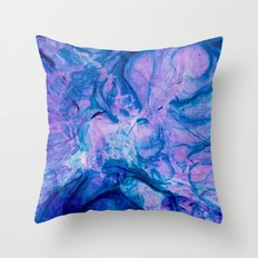 Purple One Throw Pillow