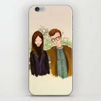 annie hall iPhone & iPod Skins featuring Annie Hall by Renia