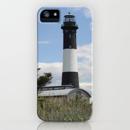 Walkway To Fire Island Lighthouse iPhone Case