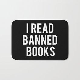 I Read Banned Books - Inverted Bath Mat