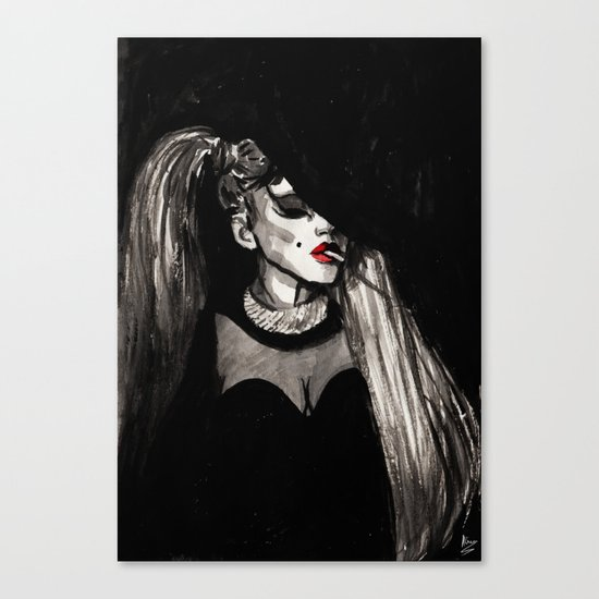 Government Hooker Canvas Print