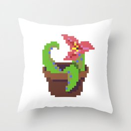Tentacle Plant Throw Pillow
