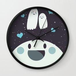 Loving Ghosts Wall Clock