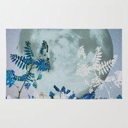 Super Moon v2 - Blue #buyart Rug