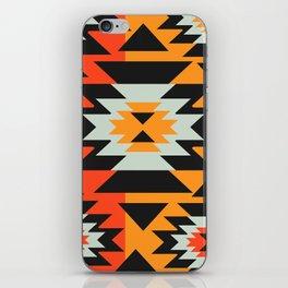 Aztec geometry iPhone Skin