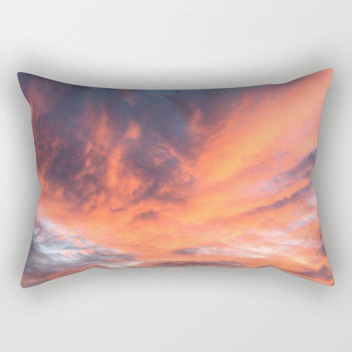 Phoenix Reborn Rectangular Pillow