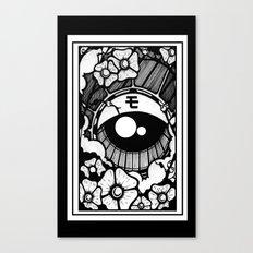 ojo japones Canvas Print
