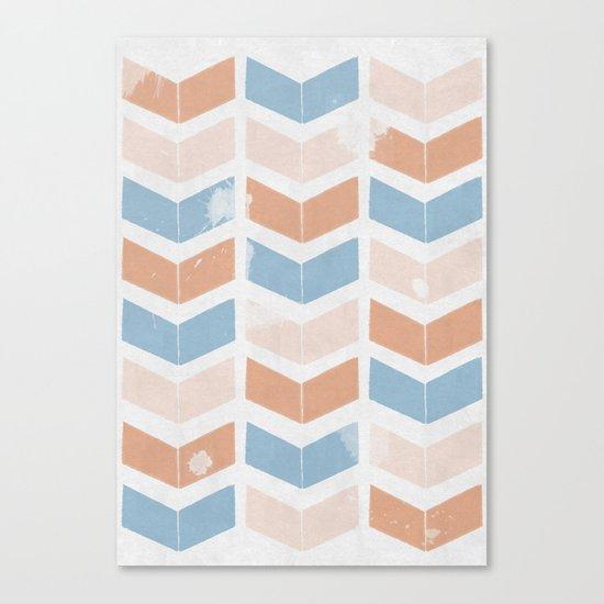 stamb chevron 2 Canvas Print