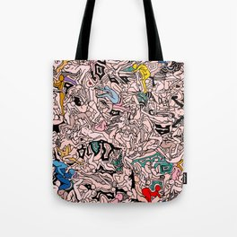 Kamasutra LOVE - Flesh Pink Tote Bag
