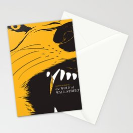The Wolf of Wall Street | Fan Poster Design Stationery Cards