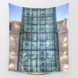 SIS Secret Service Building London Wall Tapestry